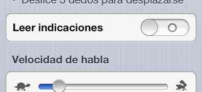Voice over, o mi iphone me habló