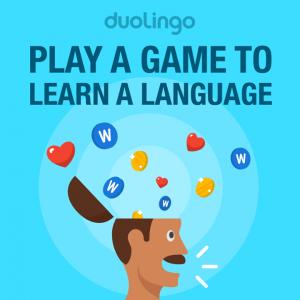 Duolingo, juega un juego, aprende un idioma