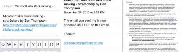 pdfconvert.me o cómo convertirlo todo en un PE-DE-EFE (y con solo un correo electrónico).