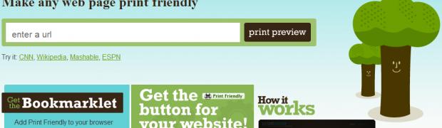 """""""Print Friendly"""", o cómo ahorrar un poco de tinta al imprimir algo de la web."""