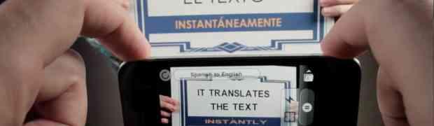 Word Lens, tu teléfono te muestra traducido lo que ve en otro idioma