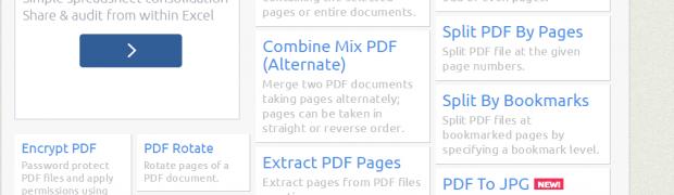 SejdaPDF : tu navaja suiza para los archivos PDF