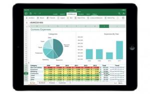 Excel en el iPad
