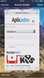 Acceso Guiado: como se activa Acceso Guiado en el Iphone o ipad