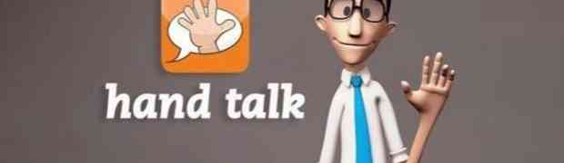 Hand talk, la app brasileña que traduce a Lengua de Señas Brasileña (LIBRA)